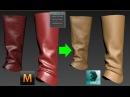Marvelous designer Tris to quad