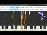 [Impossible Piano?] Synthesia Score - Kirby's Return to Dream Land - Sky Tower (Castle Area) ~ TNRea