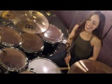 DEAD LETTER CIRCUS - THE MILE - DRUM COVER BY MEYTAL COHEN