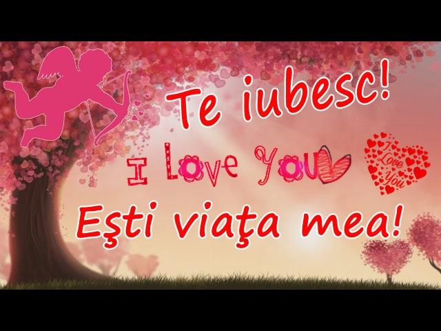 Te iubesc - Mesaj de dragoste pentru persoana iubita