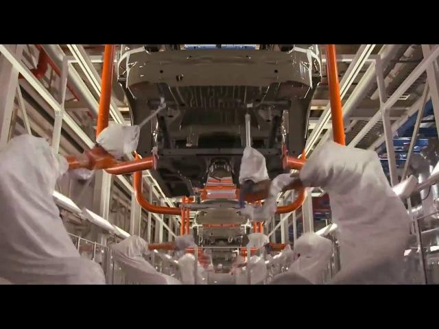 Как собирают BMW X5 X6 на заводе в США