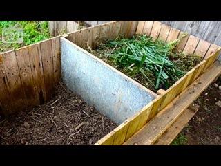 Как сделать компостную яму или кучу?