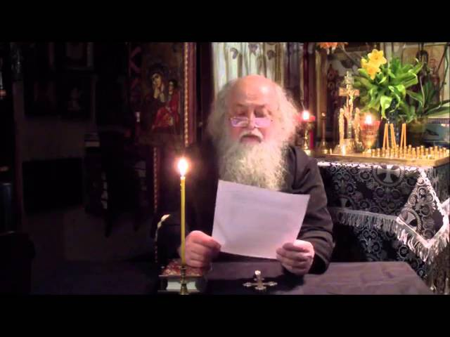 Протоиерей Алексей Ефимов О предательстве Архиерейского Собора 2016г, и Патриарха Кирилла