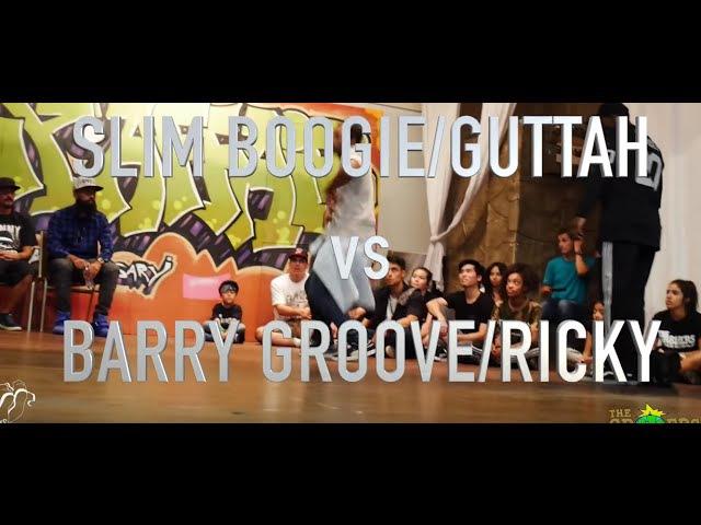 SLIM BOOGIE/GUTTAH vs BARRY GROOVE/RICKY COLE | Top 4 | The Gr818ers: A Family Affair | SXSTV