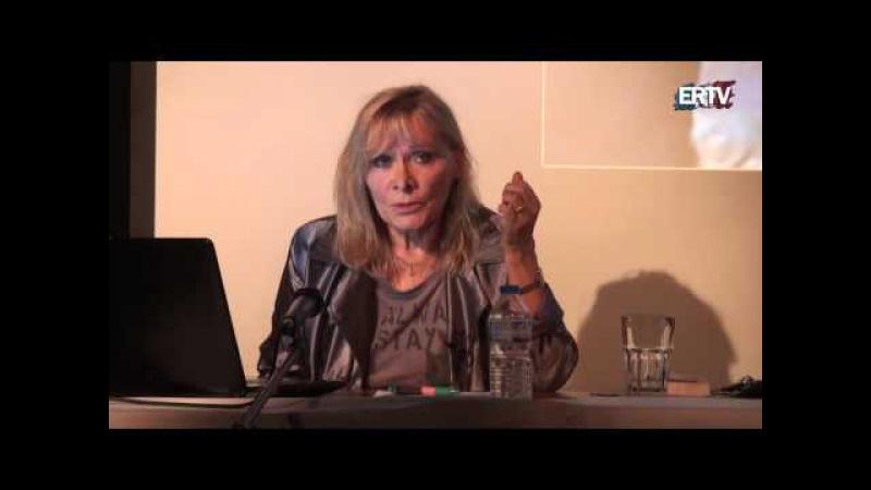La Guerre secrète contre les peuples Conférence de Claire Séverac au Théâtre de la Main d'or vid