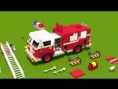 Мультики про машинки для детей от 3 лет развивающие. Конструктор собираем пожарную машину