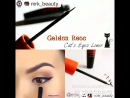 GOLDEN ROSE ПОДВОДКА ДЛЯ ГЛАЗ CAT'S LINER INTENSE BLACK ERKUL KOZMETIK