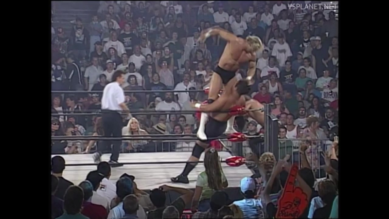 Sting and Lex Luger vs 4 Horsemen, WCW Monday Nitro 26.08.1996