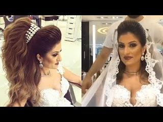 Beautiful Wedding Hair by Helan Dlol [Mounir Salon]