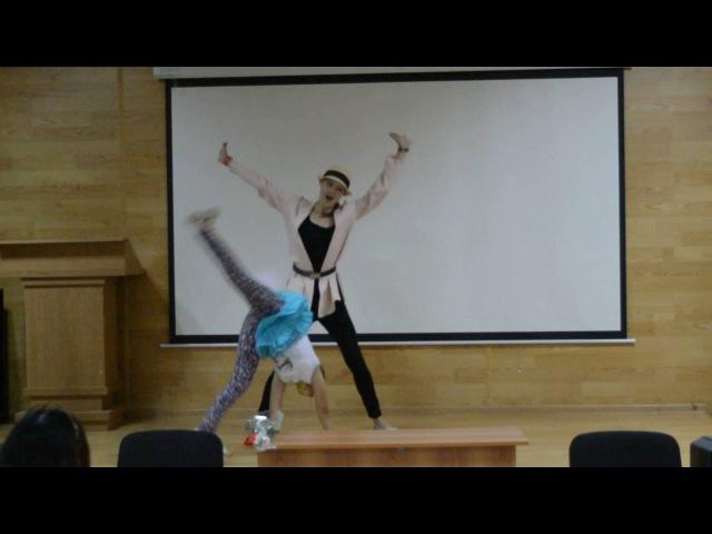 ТЕРРИТОРИЯ МЫ Танцы со звёздами Вероника Шугина и Анастасия Сальникова ЛЕТО 2016