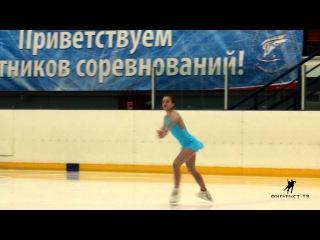 Диана Супряга КП. Соревнования на призы ФФК Санкт-Петербурга