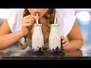 Sexy Blueberry Vanilla Milkshake Recipe (Non-Dairy)