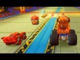 Тачки Монстер Трак Мэтр Маквин Мультик про Машинки Игры Гонки Disney Infinity 3.0
