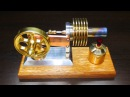 Видео Двигатель Стирлинга - сборка пуск Ldbufntkm Cnbhkbyuf - c,jhrf gecr
