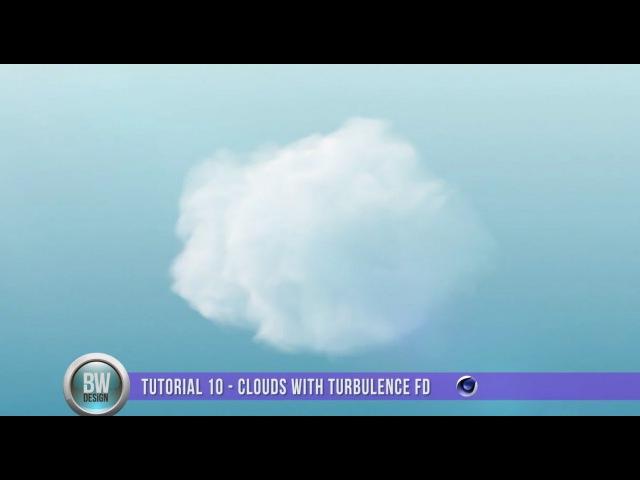 Clouds Design in Cinema 4D - Turbulence FD Tutorial