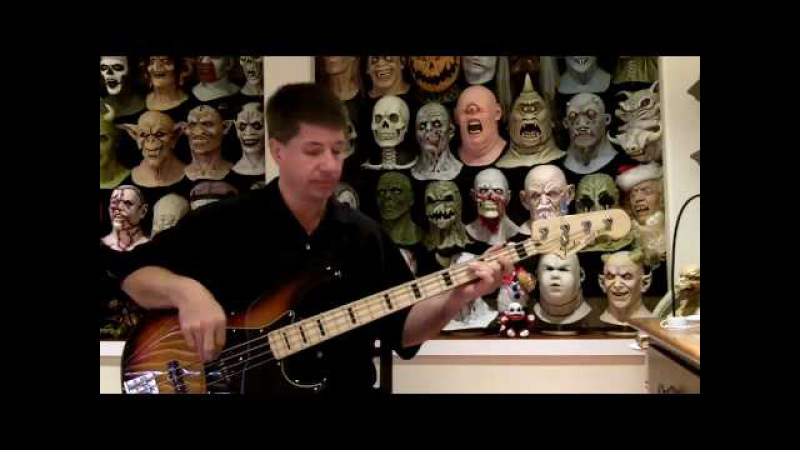 La Villa Strangiato Bass Cover