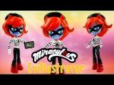 EVILLUSTRATOR Akumatized Miraculous Ladybug &amp Cat Noir Villain Custom Doll My Little Pony Tutorial
