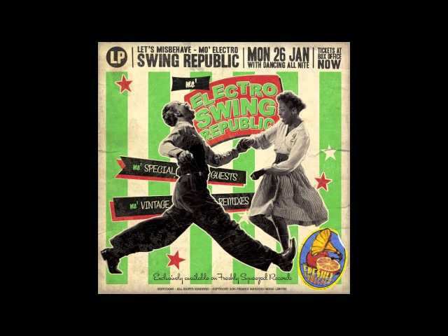 Swing Republic - Moanin' For You (feat The Mills Brothers) - [AUDIO]