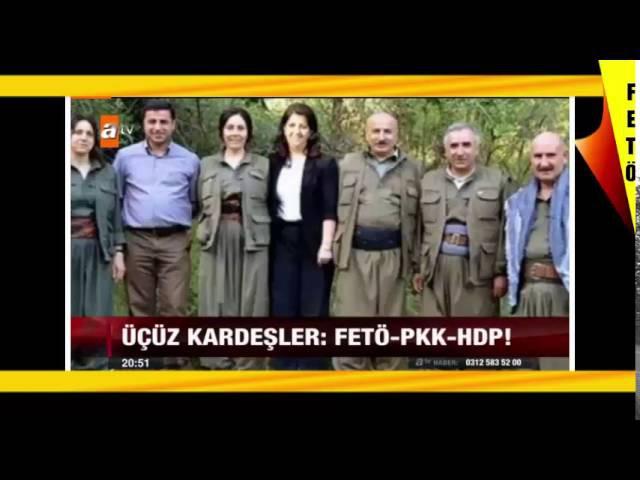 ÜST AKIL DEVREDE..! FETÖ-PKK-HDP ilişkiler.. Öcalan Gülen Takası ANALİZ