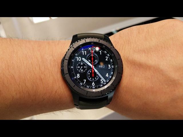 Gear S3 — новые часы от Samsung