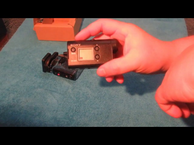 РАСПАКОВКА ЭКШН КАМЕРА Sony Action Cam HDR AS50 4k Timelapse Unboxing and Initial Thoughts