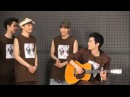 21/8/2013 EXO - Dancing to A Pink NONONO + acoustic vers by Chanyeol @ We Got Married