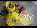 Цветы из фоамирана - Ободок для волос /Flowers foamiran - Headband hair