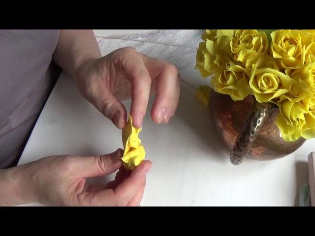 композиция с желтыми розами от Риты. Часть 1,composition with yellow roses by Rita. Part 1