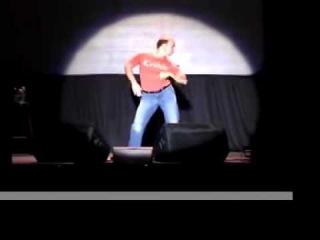 Еволюция танцев ) , Мужик классно танцует
