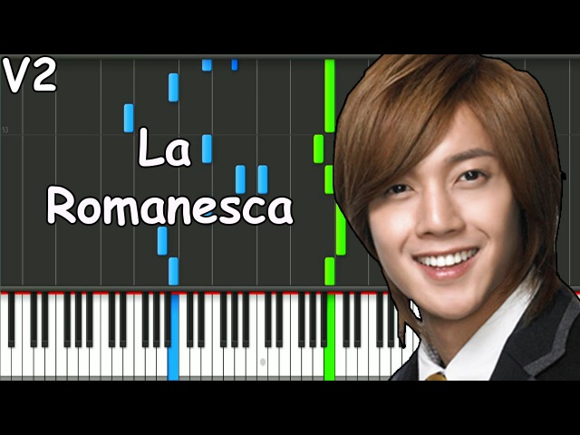 Boys Over Flowers La Romanesca Piano Version 2