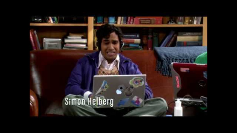Меч Азерота Big Bang Theory S1E3 ru MMORPG episode