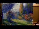 мастер классы уроки живопись маслом Игоря Сахарова