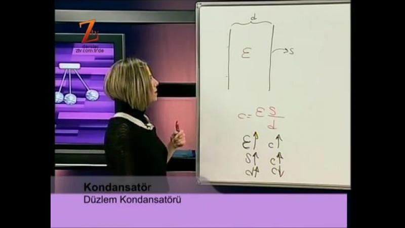 Fizik YGS LYS 103 DERS ELEKTRİKSEL POTANSİYEL VE POTANSİYEL ENERJİ SORU ÇÖZÜM 2