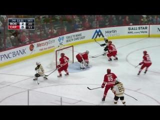 Каролина - Бостон 3-2(ОТ). 24.12.2016. Обзор матча НХЛ