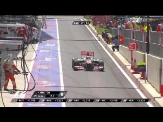 F1 2012. Гран-при Великобритании. Гонка