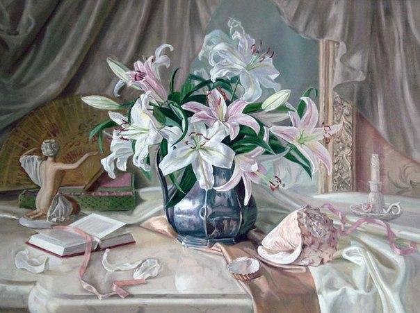 лилии-картины и стихи