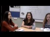 Гимн Таджикистана в исполнении студентов из восточного факультета в Москве