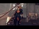 Nier Automata 2B UPSKIRT PANTY SHOT SCENES】