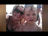 С ребенком на море пляж Анапы ПАРАЛИЯ отдых с детьми