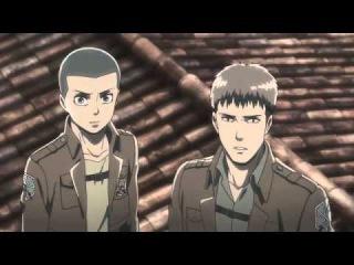 Копия видео Атака Титанов Гоблинский Перевод! 4 серия