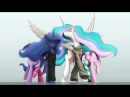 MLP: Princess Celestia and Luna