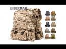 Недорогой, военный, походный рюкзак на 50 л с подсумками с Aliexpress