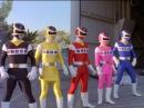 Power Rangers vs Evil Clone Power Rangers Battle Power Rangers in Space