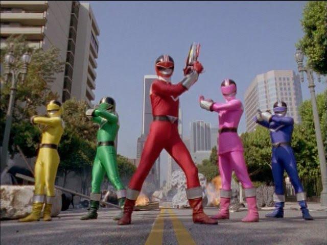 Power Rangers Time Force - Final Battle (Power Rangers vs Ransik).