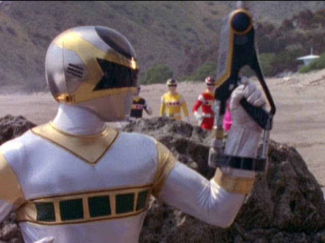 Power Rangers in Space - Silver Ranger (Episodes 20-43)
