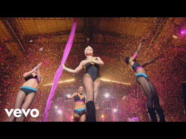 P nk Get the Party Started from Live from Wembley Arena London England ft Redman