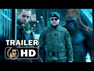 WAR FOR THE PLANET OF THE APES Official Trailer #2 Teaser (2017) Andy Serkis Sci-Fi Action Movie