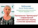ДЕТОКСИРОЗ - современный комплексный подход к очищению организма. Байкулова Н.Г.