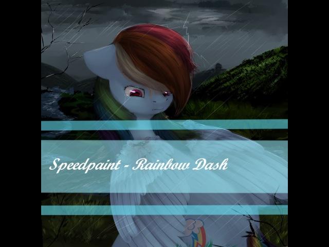 Speedpaint|MLP FiM|Rainbow Dash