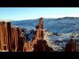 DJI Mavic Pro Зима Горы Природа Съемка с воздуха квадрокоптер